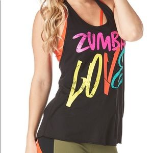 Zumba Love Halter Top